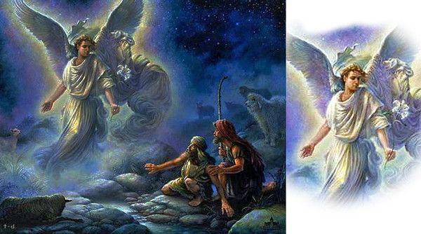 NAISSANCE DE JESUS ANNONCEE AUX BERGERS